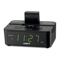 Conair™ Clock Radio with iPod® Compatible Dock