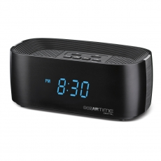 Conairtime® Digital Alarm Clock with Dual USB Charging Ports