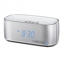 Conairtime® Sync Bluetooth® Alarm Clock with Dual USB Charging Ports
