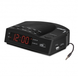 Conair™ Alarm Clock Radio with USB Charging Port