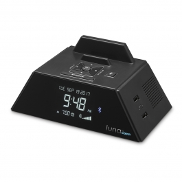 Luna by Conair™ Alarm Clock Charging Station with Bluetooth®